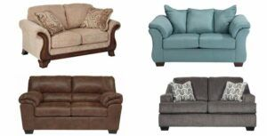 Ashley furniture sofa loveseats