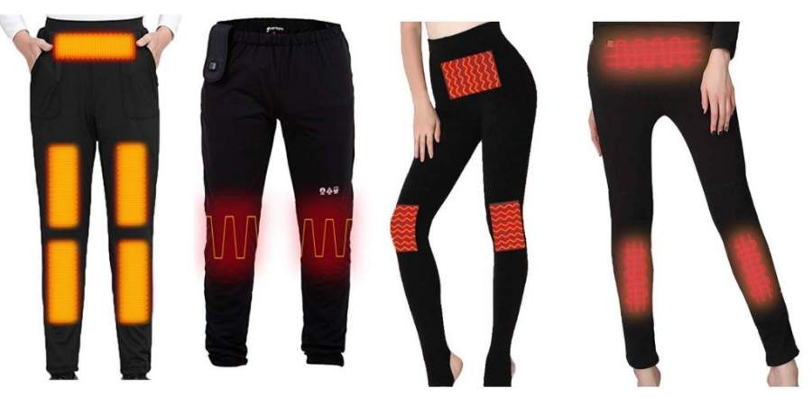 Battery Heated Pants for Women and Men