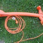 My new Black & Decker GL310 string grass trimmer.