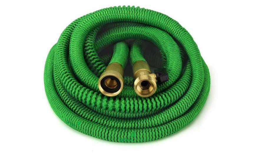 Braided water hose set No-kink Anti-knot No-twist Garden//Yard//Patio pipe kit 30