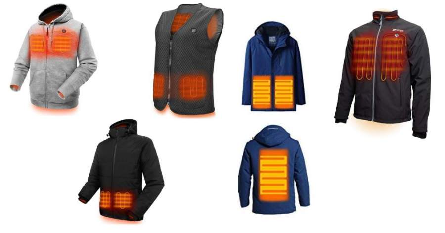 Best Rated Heated Jackets for Men