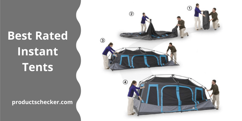 Best Rated Instant Tents for Camping