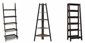 Ladder Shelves on Amazon
