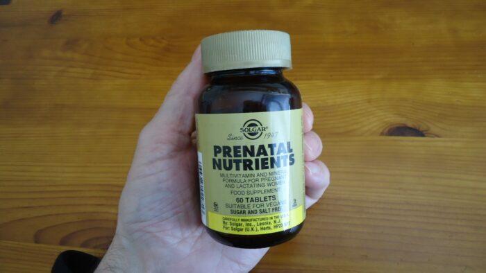 Solgar Prenatal Nutrients.