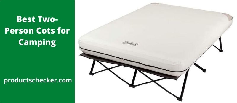 Best Two-Person Cots for Camping