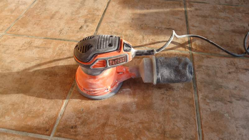 Black & Decker 5 in Random Orbit Sander Review