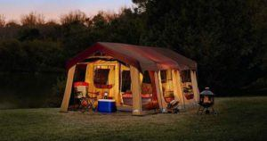 Cabin Style Tents for Camping