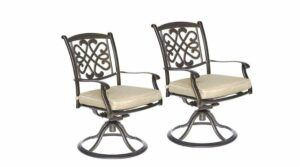 Cast Aluminum Patio Dining Chairs