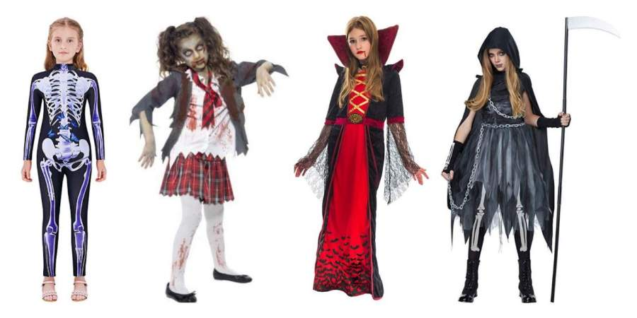 Cute Scary Halloween Costumes for Girls