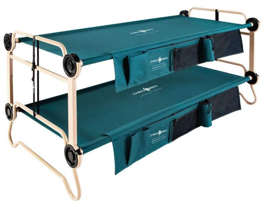 Disc-o-Bed Bunk Cots
