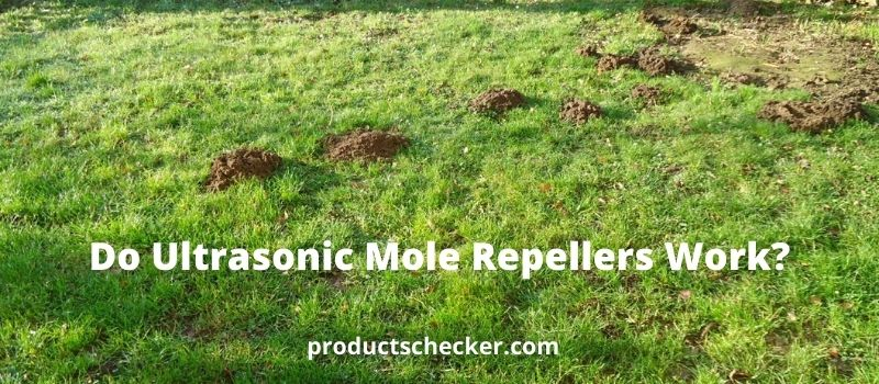 Do Ultrasonic Mole Repellers Work?
