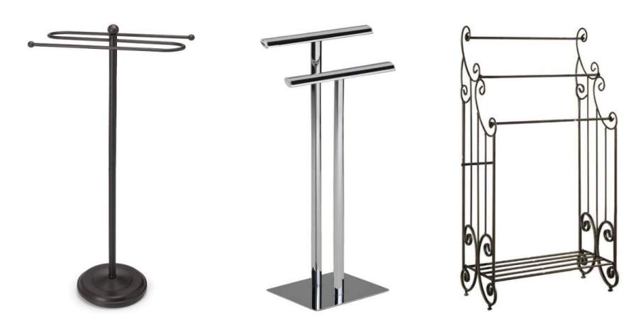 Free Standing Towel Racks for Bathroom