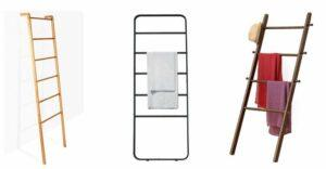 Ladder Towel Racks for Bathrooms
