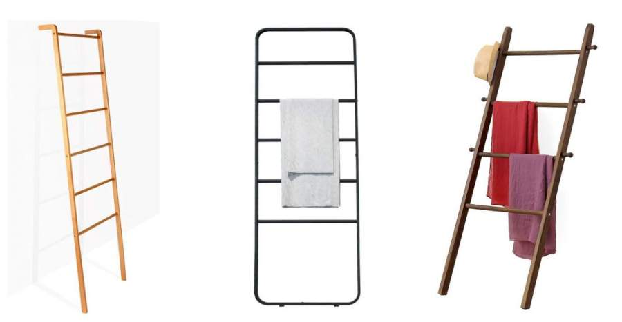 Ladder Towel Racks for Bathrooms