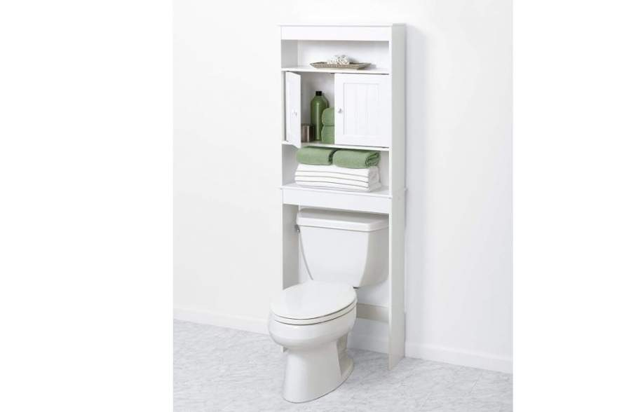 Over the Toilet Bathroom Storage Cabinets