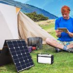 Portable Foldable Solar Panels for Camping