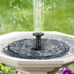 Solar Powered Fountains for Gardens