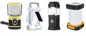Solar Powered Light for Camping