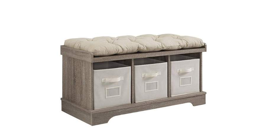 Storage Benches with Seating
