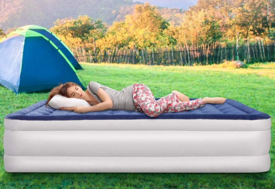 Top Rated Queen Size Raised Air Mattresses with Built in Pump