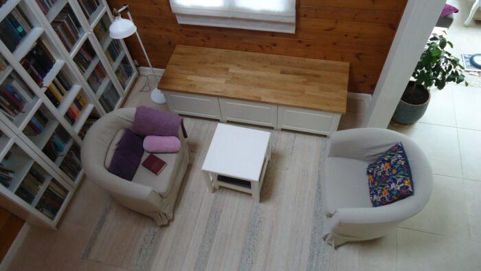 Ikea Metod/Bodbyn bench assembled.