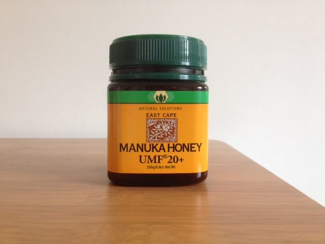 The first package of manuka my daughter was using.