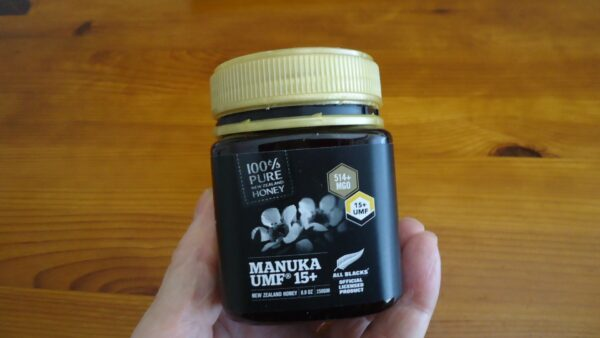 My own package of manuka.